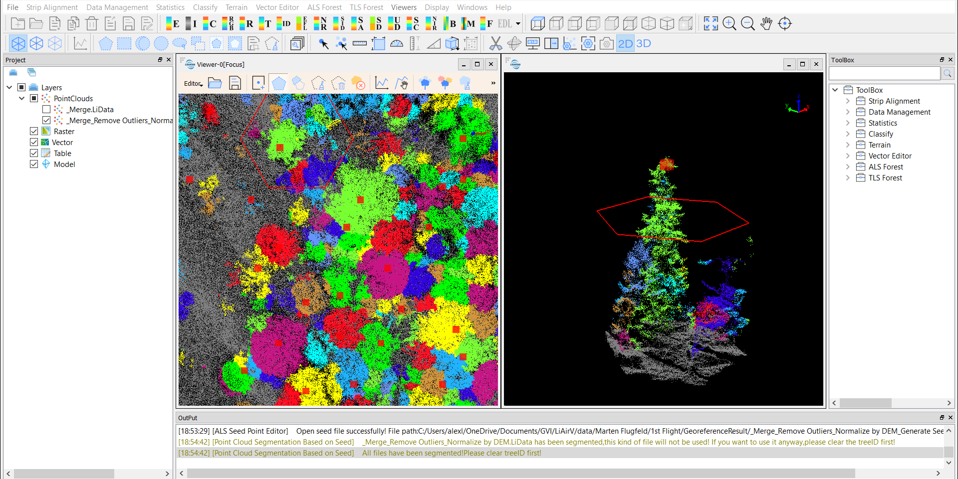 EPOTRONIC - Software - LiDAR360: Forestry Module training